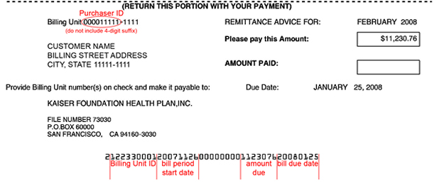 One-Time Pay - Kaiser Permanente